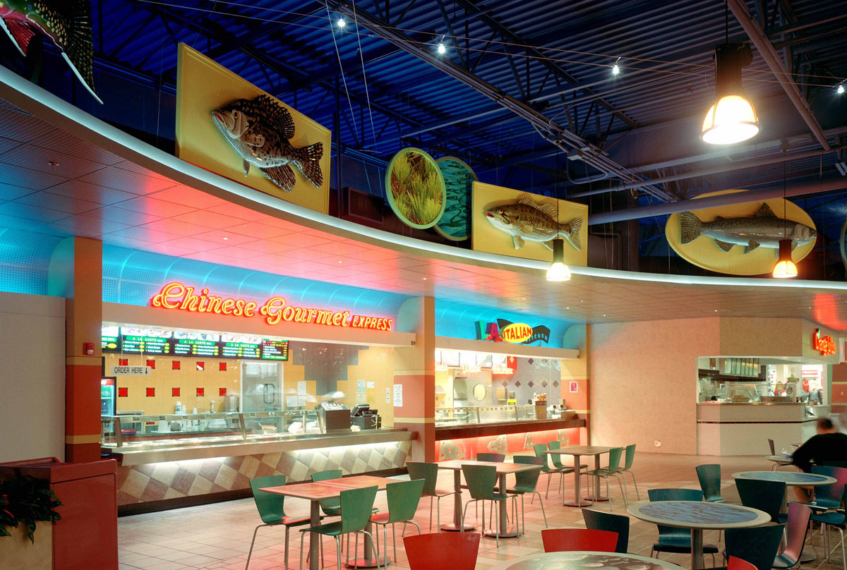 Mt. Shasta Mall food court